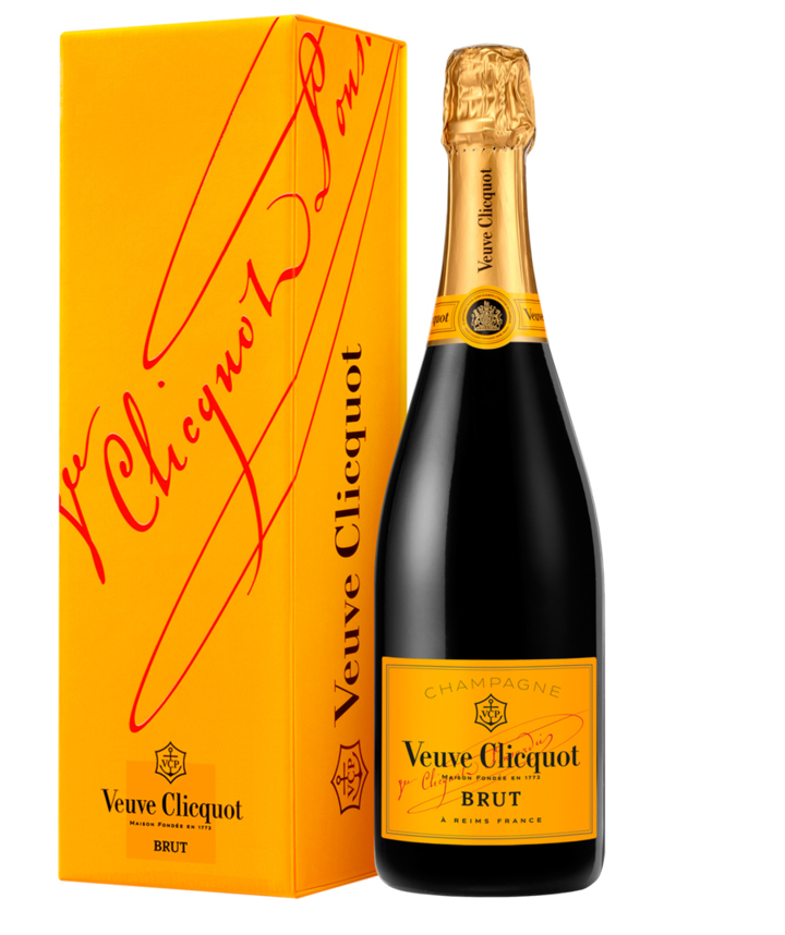 Veuve Clicquot: Yellow Label Brut Giftbox 0,75 l
