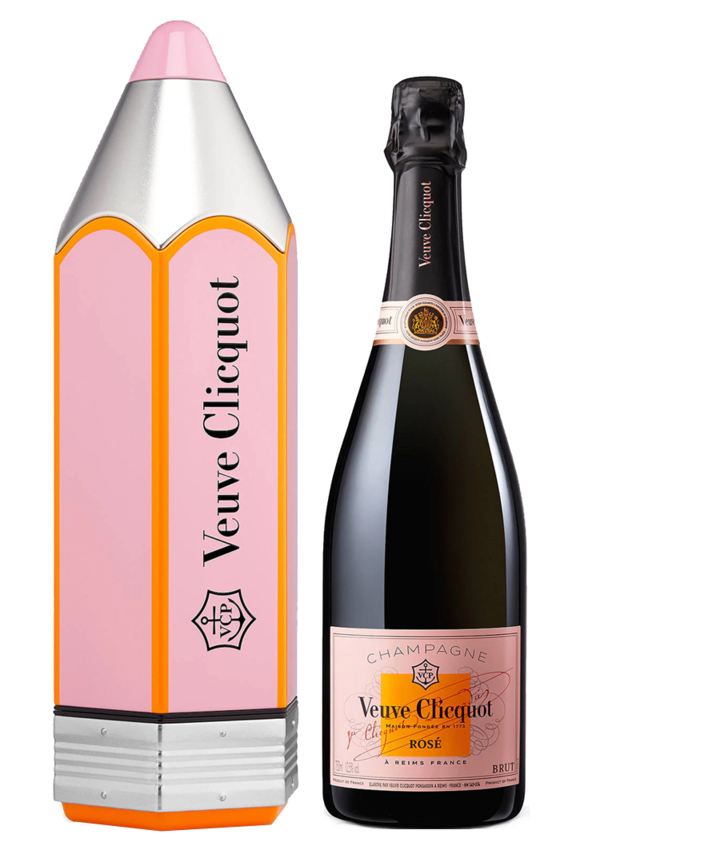Veuve Clicquot: Rosé Brut Pencil 0,75 l