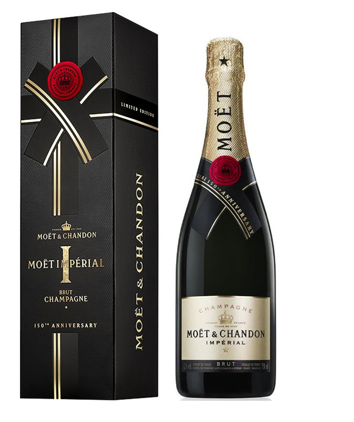 Moët & Chandon: 150th anniversary Giftbox 0,75 l