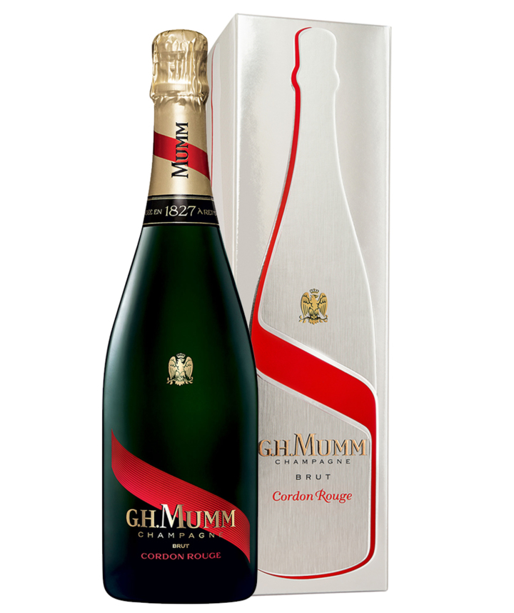 G. H. Mumm: Cordon Rouge Giftbox  0,75 l