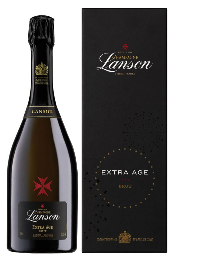 Lanson: Extra Age Brut Giftbox 0,75 l