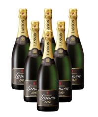 Lanson: Black Label Brut 6 x 0,75 l
