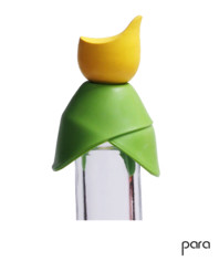 PARA: Bottle stopper 3 in 1 Yellow
