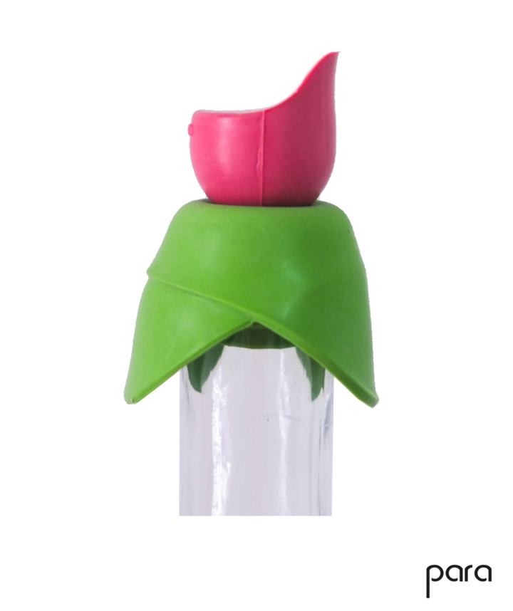 PARA: Bottle stopper 3 in 1 Pink