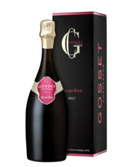 Gosset: Grand Rosé Brut Giftbox 0,75 l